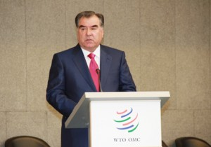 WTO Approves Membership for Tajikistan