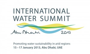 International Water Summit to Commence from Jan 15