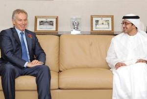 Sheikh Abdullah Receives Blair