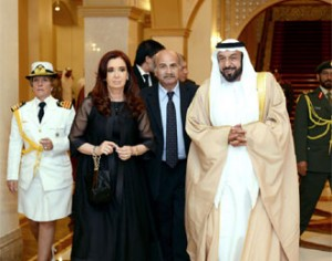 Sheikh Khalifa Holds Talks with Argentine President