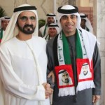 Sheikh Mohammed Receives UAE Football Team