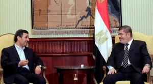 Ahmadinejad Meets Morsi in Landmark Visit