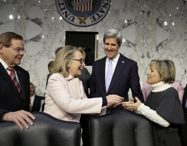 Clinton out, Kerry in as US secretary of State