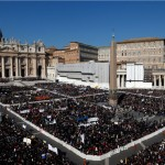 Pope Bids Farewell to Huge Crowds