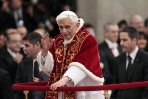 Pope Says Will Resign on Feb 28