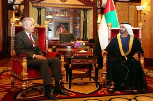 Sheikh Mohammed Meets Spanish Defence Minister