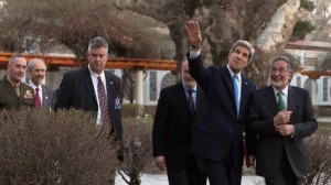 Kerry Visits Kabul