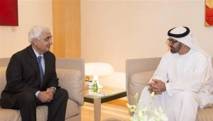 Sheikh Mohammed bin Zayed Meets Indian FM