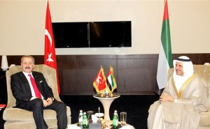Sheikh Sultan & His Turkish Counterpart Discuss Economic Ties