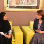 Sheikha Lubna Receives French Senate Members