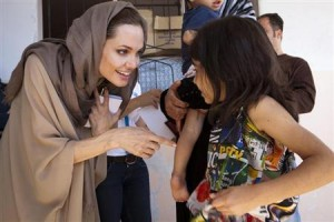 Jolie to Sell Jewelry Line to Fund Schools