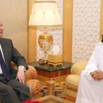 Sheikh Mohammed Meets UK Foreign Minister