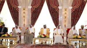 Sheikh Mohammed Receives Arab Ministers