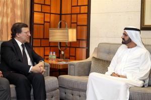 Sheikh Mohammed Receives EC President
