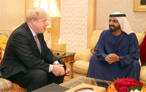 Sheikh Mohammed Receives Mayor of London