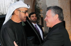Sheikh Mohammed bin Zayed Meets King of Jordan