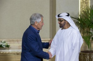 Sheikh Mohammed bin Zayed Meets US Defense Secretary