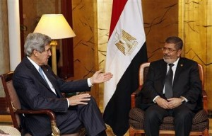Kerry Meets Egyptian President