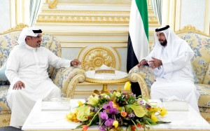 President Receives Crown Prince of Bahrain