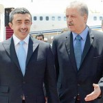 Sheikh Abdullah Discuss Ties with Algerian PM