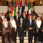 Sheikh Abdullah attends Friend of Syria Meeting
