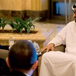 Sheikh Mohamed bin Zayed Meets French FM