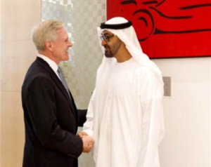 Sheikh Mohamed bin Zayed Meets U.S Navy Secretary