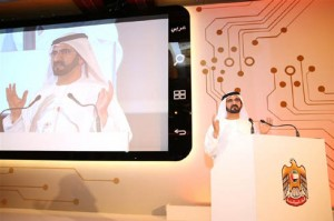Sheikh Mohammed Launches Mobile Government