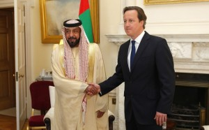 UAE President Hold Talks with British PM