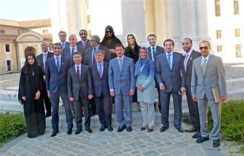 Emirati-Italian Joint Economic Forum Held