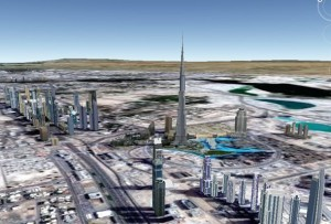 Google Street View of Burj Khalifa Launched