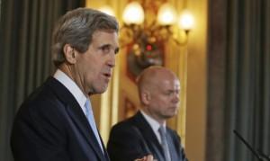 Kerry Meet British FM for Syria talks