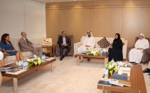 Sheikh Mohammed Meet Members of Int'l Media Organizations