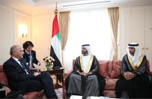 Sheikh Mohammed Meets French FM