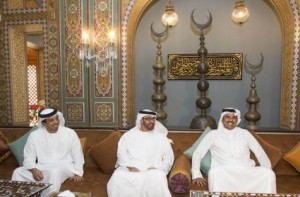 Sheikh Mohammed bin Zayed Meets Crown Prince of Qatar