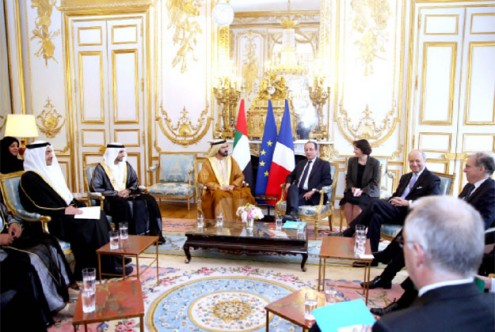 UAE-France to boost Strategic Partnership