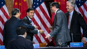 China to Resume Investment Talks with US