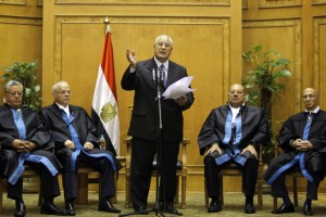 Egypt's Interim Leader Calls for Calm