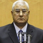 Mansour Takes over as Egypt President