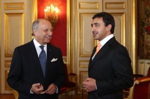 Sheikh Abdullah Meets French FM