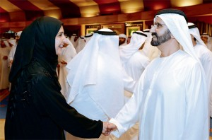 Sheikh Mohammed Meets Leaders of Business Community