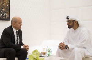 Sheikh Mohammed bin Zayed Meets French Defense Minister