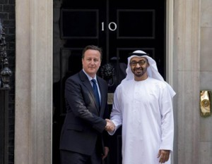 Sheikh Mohammed bin Zayed and British PM Discuss Issues
