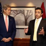 Sheikh Abdullah-Kerry Discuss Middle East Peace Process