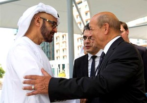 Sheikh Mohammed bin Zayed meets French Defence Minister