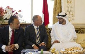 Crown Prince Receives Premier of Queensland State