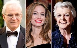 Jolie & Martin to Receive Honorary Oscars