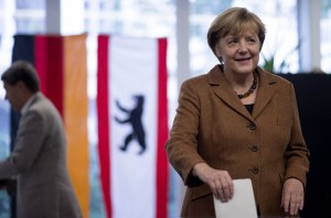 Merkel Triumphs in German Vote