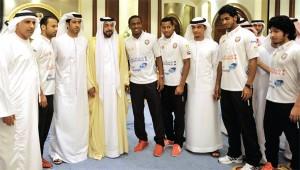 President orders Honouring Football Team