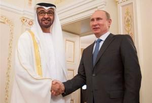 Sheikh Mohammed bin Zayed- Putin discuss Cooperation